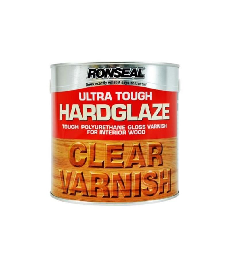 Ronseal Ultra Tough Hardglaze Varnish 250ml Clear Gloss