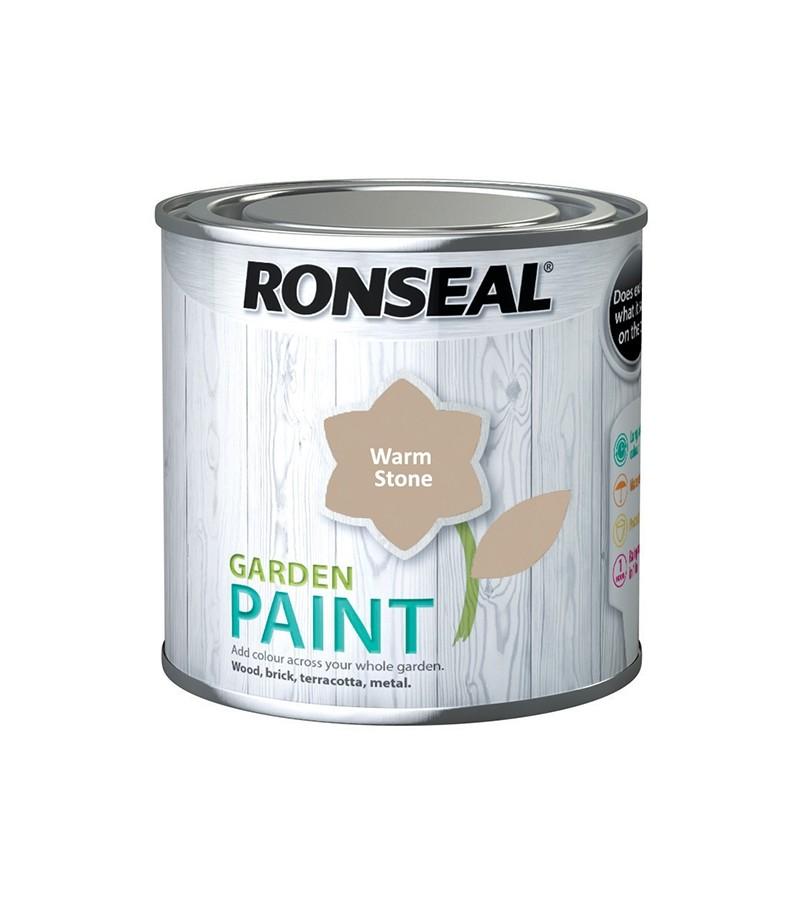 Ronseal Garden Paint 250ml Warm Stone