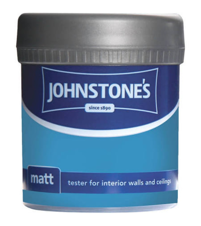 Johnstones Vinyl Emulsion Tester Pot 75ml Waterfall (Matt)