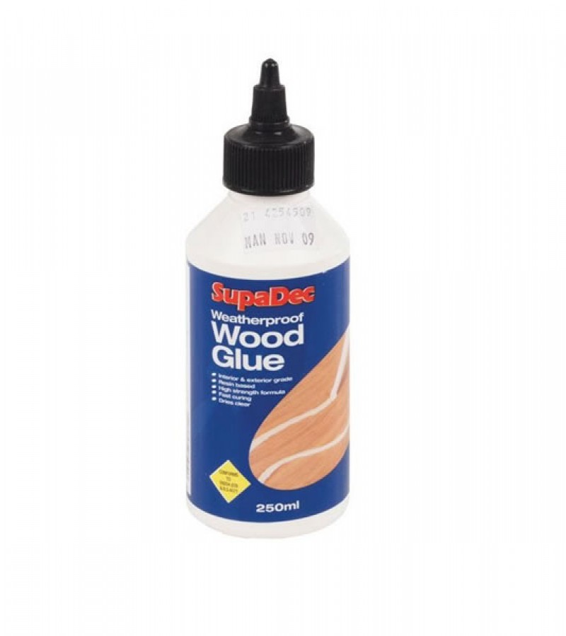 Supadec Weatherproof Wood Glue 125ml
