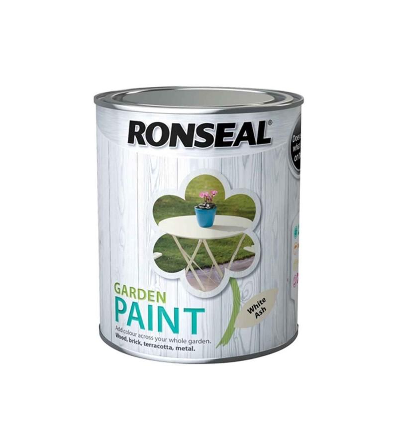 Ronseal Garden Paint 2.5L White Ash