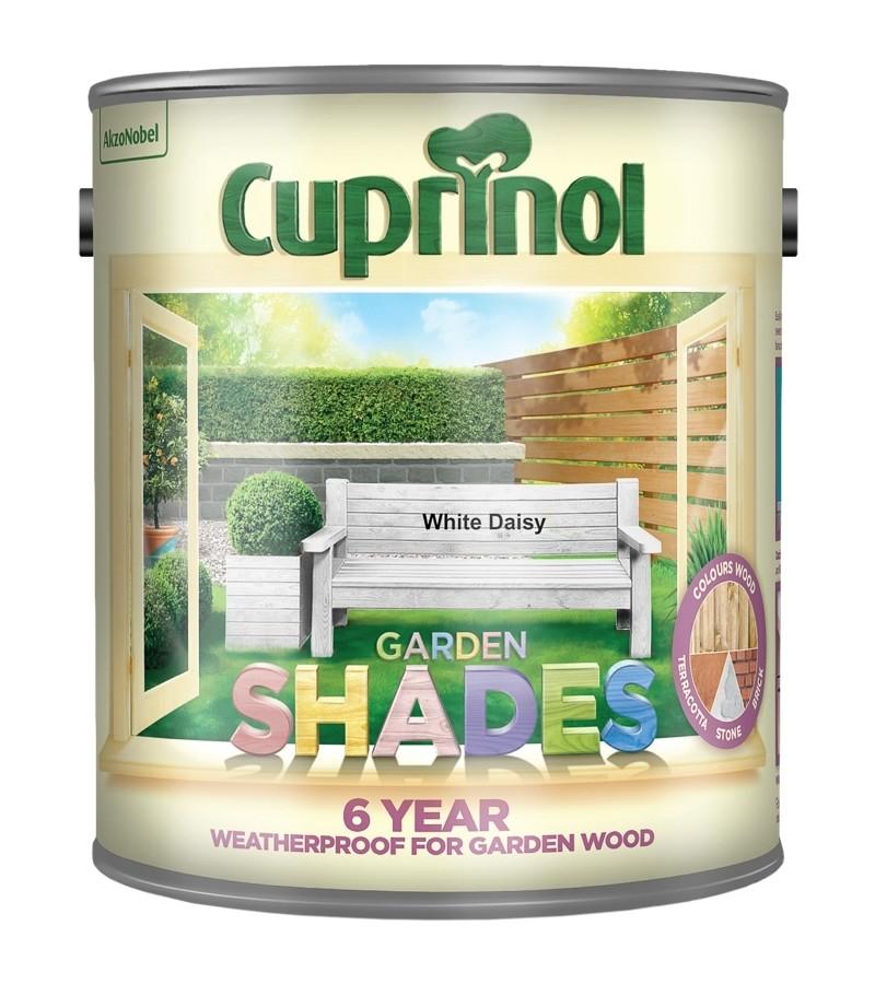 Cuprinol Garden Shades 2.5L White Daisy