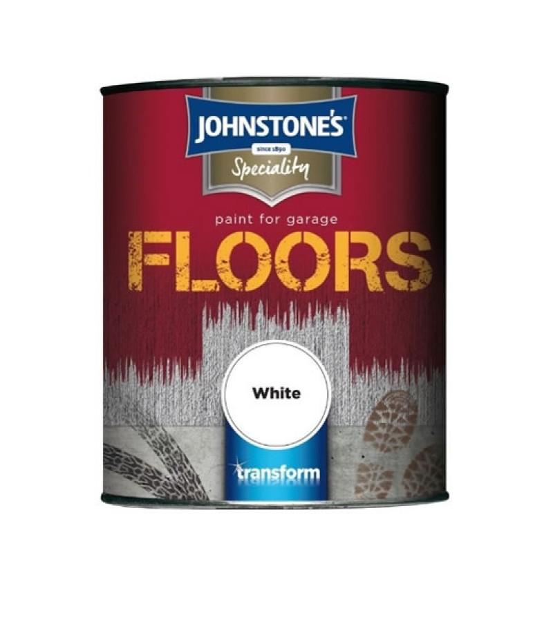 Johnstone's Garage Floor Paint 750ml White