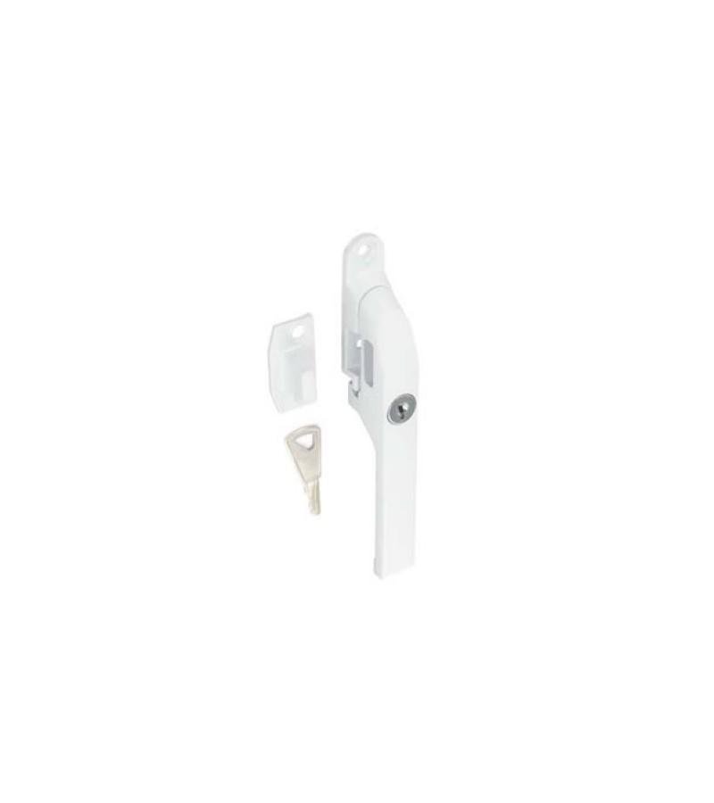 Securit S1073 White Locking Casement Fastener 125mm