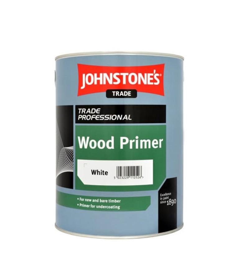 Johnstones Trade Wood Primer 5L White
