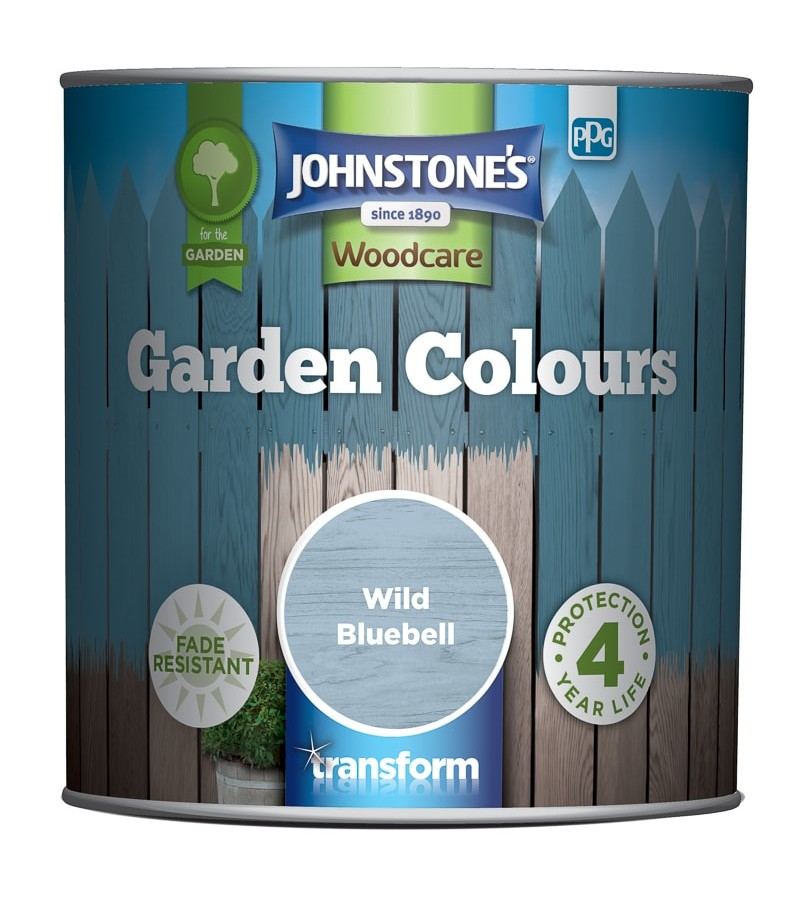 Johnstones Garden Colours Paint 2.5L Wild Bluebell