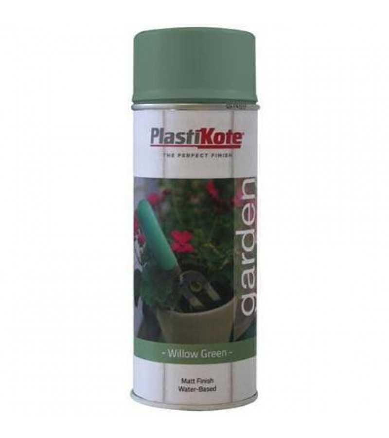 Plasti-Kote Garden Colours Spray Paint 400ml Willow Green