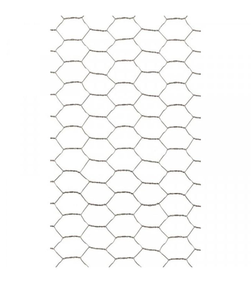 Galvanised Wire Netting 13mm, 0.5m x 5m