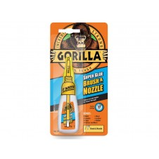 Gorilla Super Glue With Brush & Nozzle 12g