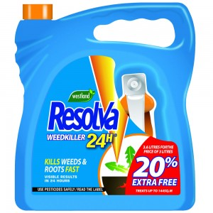 Westland Resolva 24H Ready to Use Weedkiller 3L
