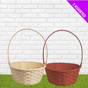 Large Wicker Basket - Assorted
