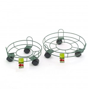 "Gardman 13"" Pot Trolley Green"