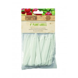 "Gardener's Mate 4"" Plant Labels (50 Pack)"