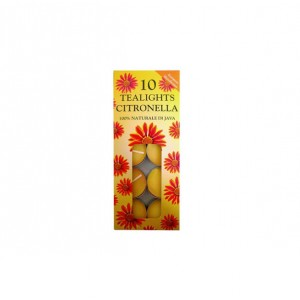 Price's Citronella Tealights (10 Pack)