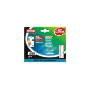 Eveready 400W 118mm Energy Saving Linear Bulbs (2 Pack)