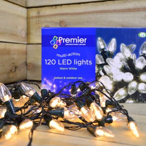 Premier C6 Warm White LED Lights (120 Lights)