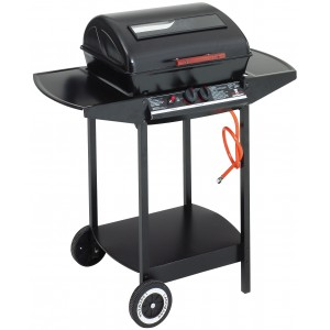 Landmann Dual Burner Lava Rock Gas Barbecue