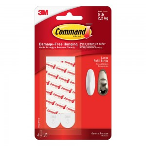 Command Refill Strips Large 6 Pack