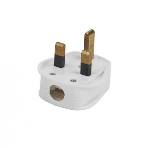 PIFCO 13A 3 Pin Plug White
