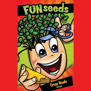 Mr Fothergill's Fun Seeds Cress Heads (3000 Pack)