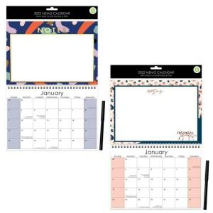 2022 Memo Calendar - Assorted