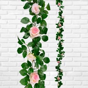 Rose Garland Pink 1.9m