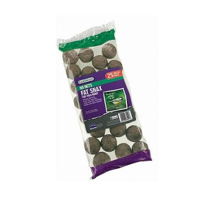 Gardman Wild Bird No Nets Fat Snax (25 Pack)