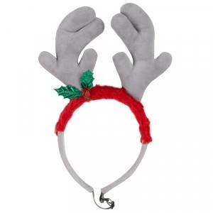 Christmas Rein-Dog Antlers