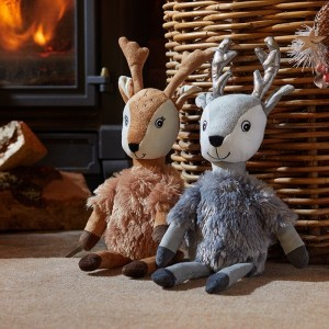 Christmas Crinkle-Squeak Dancer & Prancer