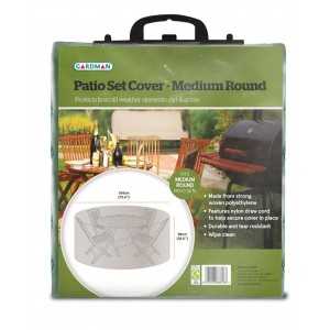 Gardman Patio Set Cover - Medium Round