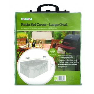 Gardman Patio Set Cover - Large Oval