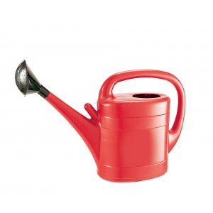 Grow It Plastic Watering Can 10L Red