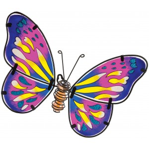 Butterfly Wall Art - Pink