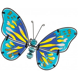 Butterfly Wall Art - Blue