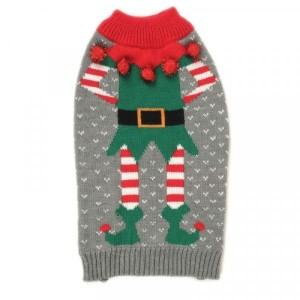 Christmas Merry Elf Dog Jumper 35cm