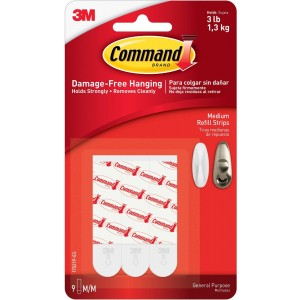 Command 3M Mounting Strip Refills