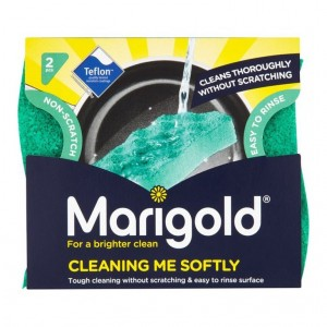 Marigold Cleaning me Softly Non Scratch Scourers 2pk