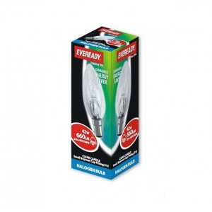 Eveready 42W SBC Clear Candle Bulb