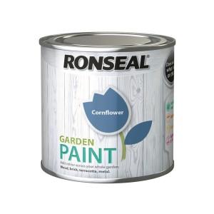 Ronseal Garden Paint 250ml Cornflower