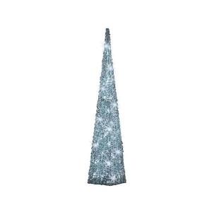 Kaemingk LED Outdoor Acrylic Pyramid White 60cm Cool White