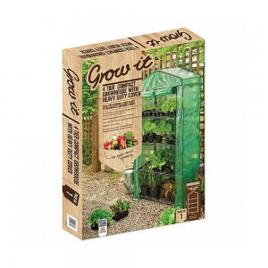 Grow It 4 Tier Compact Growhouse With Heavy Duty Cover