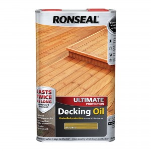 Ronseal Ultimate Decking Oil 5L Natural