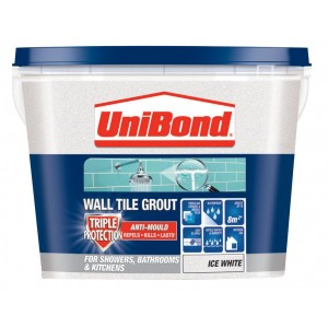 Unibond Anti-Mould Ready to Use Grout 1.38KG Ice White