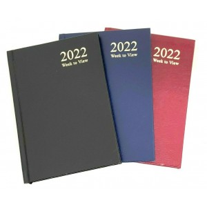 A6 Diary Week to View 2022