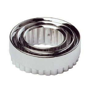Chef Aid Metal Pastry Cutters (3 Pack)