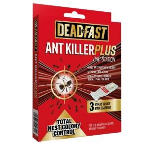 Deadfast Ant Killer Plus Bait Station (3 x 4g)