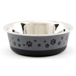 Cool Grey Pet Bowl Small