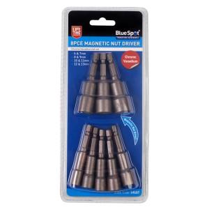 BlueSpot 8 PCE Magnetic Nut Driver Set (6-13mm)