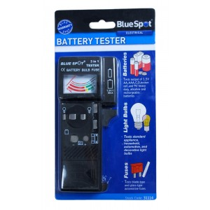 BlueSpot Battery Bulb And Fuse Tester