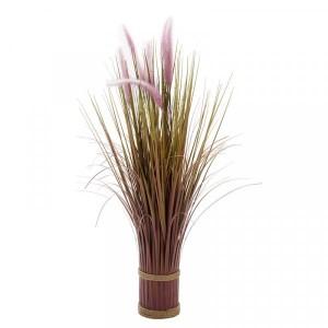 Faux Bouquet Lilac Grass Tails 70cm